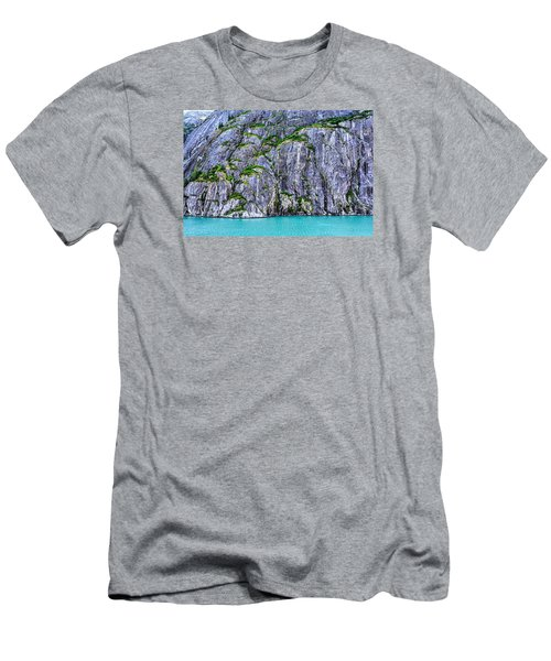 Men's T-Shirt (Slim Fit) featuring the photograph Cliffs Of The Inside Passage by Lewis Mann