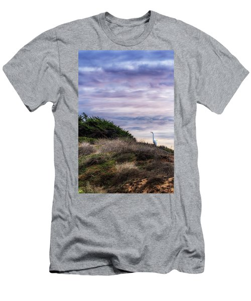 Cliffside Watcher Men's T-Shirt (Athletic Fit)