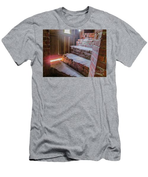 Climb The Brick Steps Of Time Men's T-Shirt (Athletic Fit)