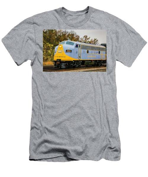 Clinchfield No 800 Men's T-Shirt (Athletic Fit)