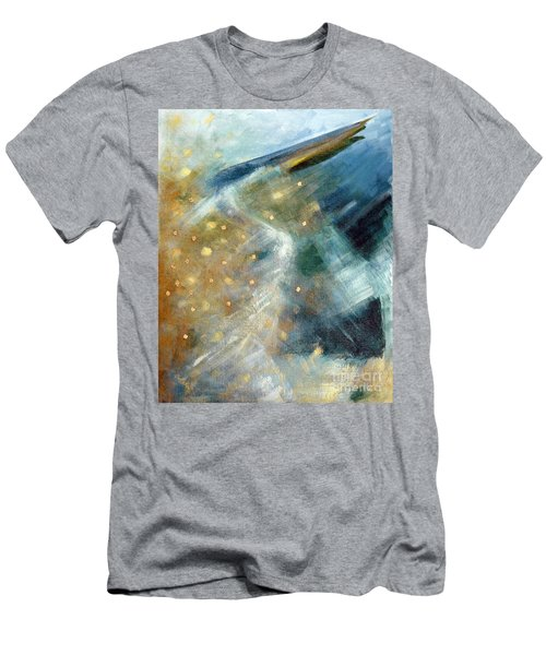 Close Encounter With A Great Blue Men's T-Shirt (Athletic Fit)