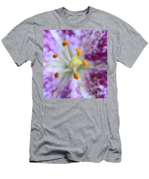 Close Up Flower Men's T-Shirt (Athletic Fit)