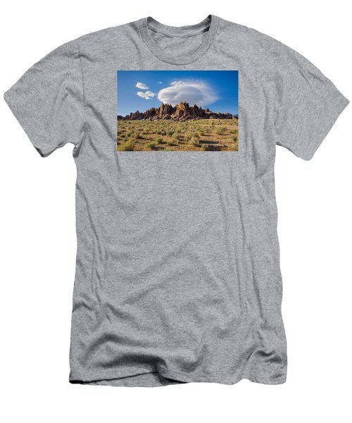 Cloud And Rocks Men's T-Shirt (Athletic Fit)