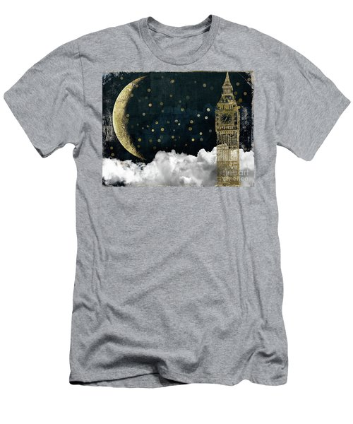 Cloud Cities London Men's T-Shirt (Slim Fit) by Mindy Sommers