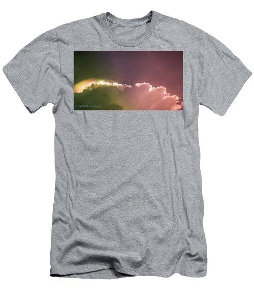 Cloud Eruption Men's T-Shirt (Slim Fit) by Stefanie Silva