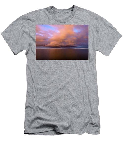 Cloud Motion At Dawn  Men's T-Shirt (Athletic Fit)