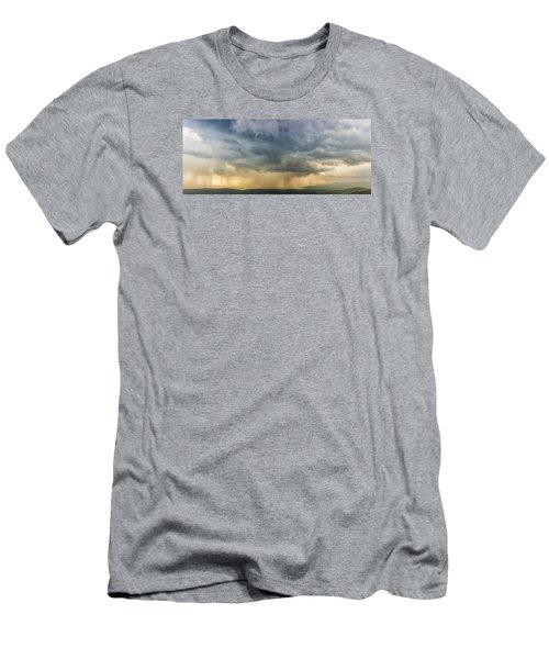 Storm Clouds - Blue Ridge Parkway Men's T-Shirt (Athletic Fit)