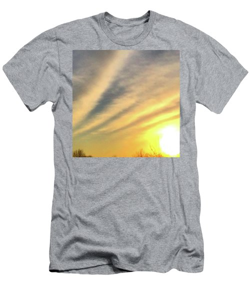 Clouds And Sun Men's T-Shirt (Athletic Fit)