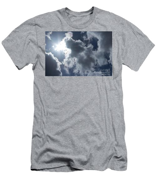 Men's T-Shirt (Athletic Fit) featuring the photograph Clouds And Sunlight by Megan Dirsa-DuBois