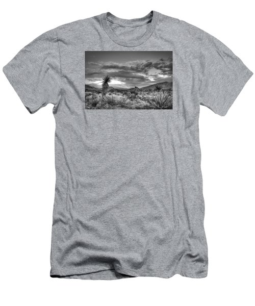Clouds And Yucca Men's T-Shirt (Athletic Fit)