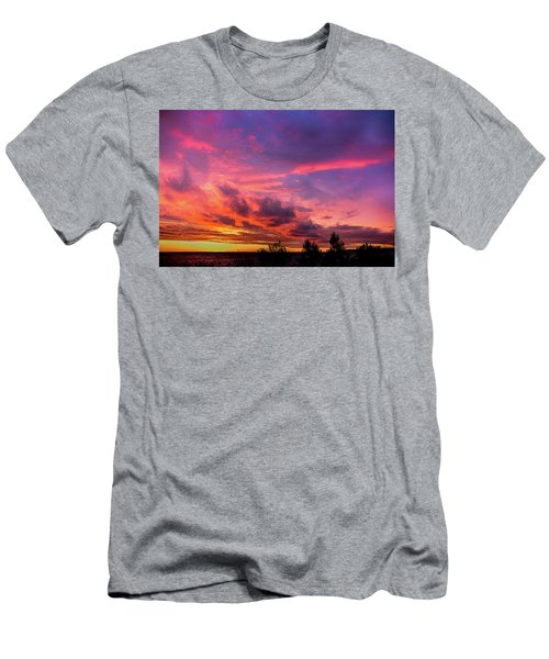 Clouds At Sunset Men's T-Shirt (Athletic Fit)
