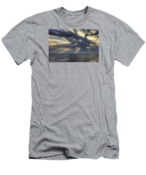 Men's T-Shirt (Slim Fit) featuring the photograph Clouds by John Swartz