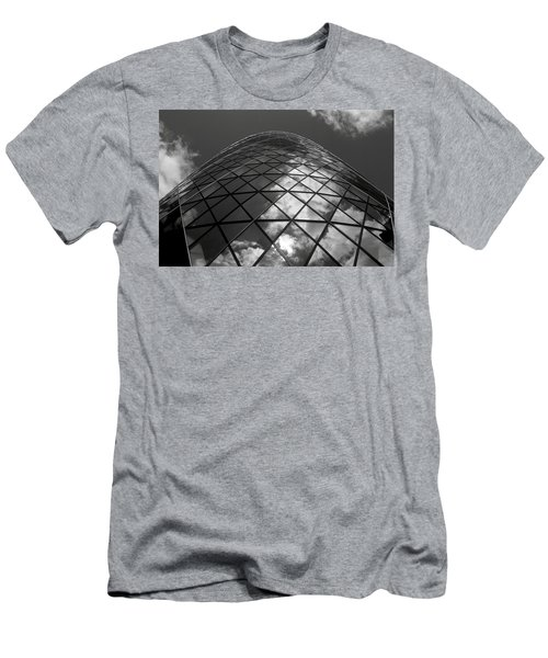 Clouds On The Building Men's T-Shirt (Athletic Fit)