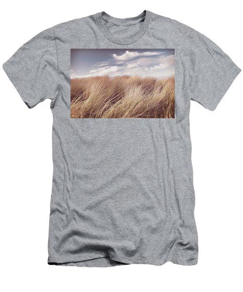 Clouds Over Dunes Men's T-Shirt (Athletic Fit)