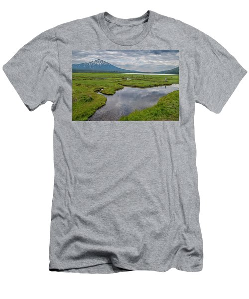 Clouds Over Sparks Men's T-Shirt (Athletic Fit)