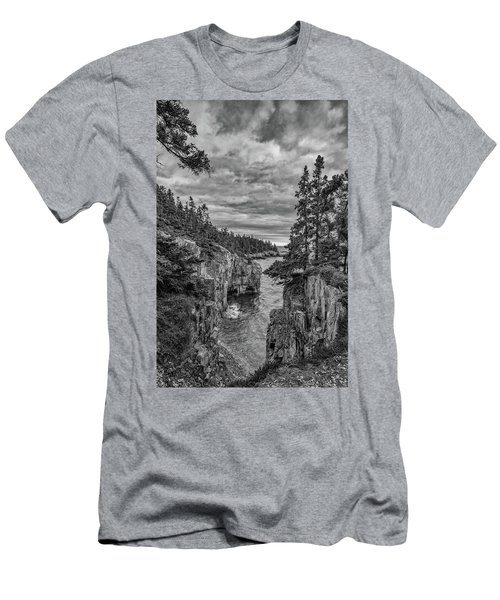 Clouds Over The Cliffs Men's T-Shirt (Athletic Fit)