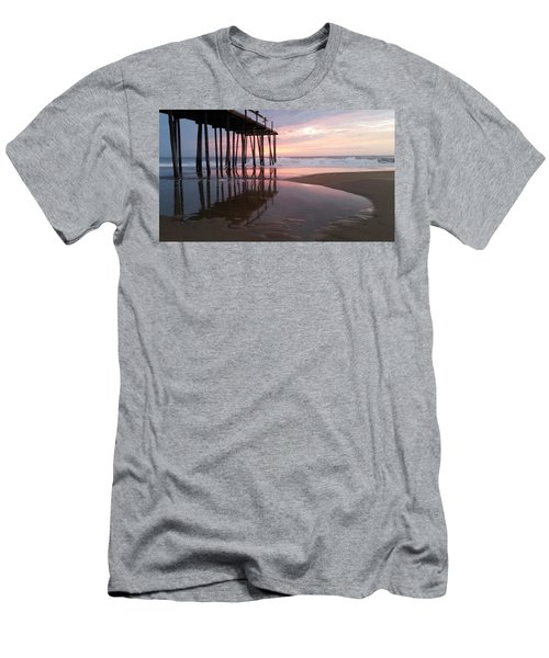Cloudy Morning Reflections Men's T-Shirt (Slim Fit) by Robert Banach
