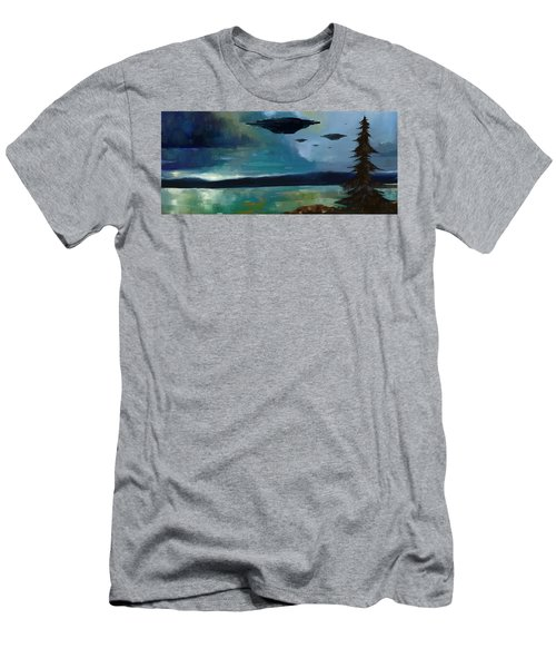 Cloudy Skies Men's T-Shirt (Athletic Fit)