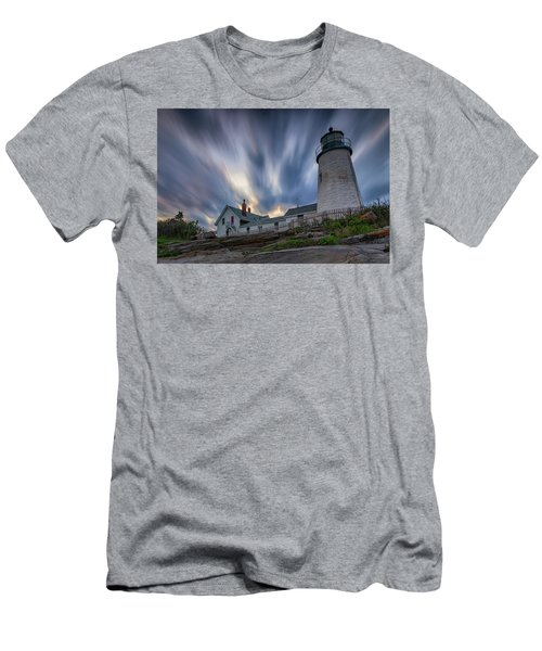 Cloudy Sunset At Pemaquid Point Men's T-Shirt (Athletic Fit)