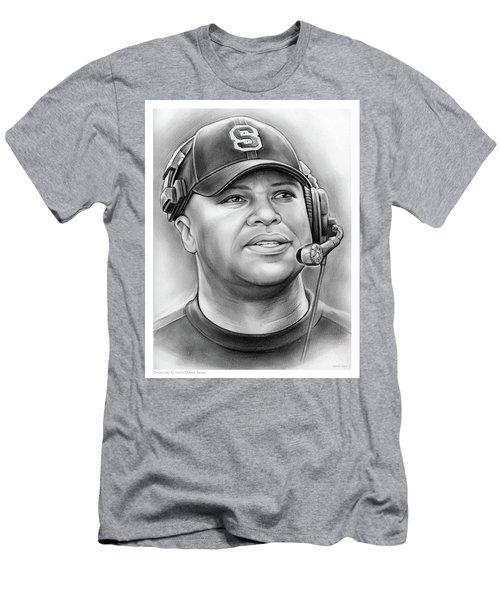 Coach David Shaw Men's T-Shirt (Athletic Fit)