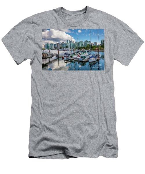 Coal Harbor Marina Men's T-Shirt (Athletic Fit)
