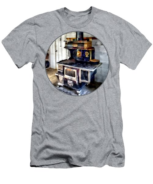 Coal Stove In Kitchen Men's T-Shirt (Athletic Fit)