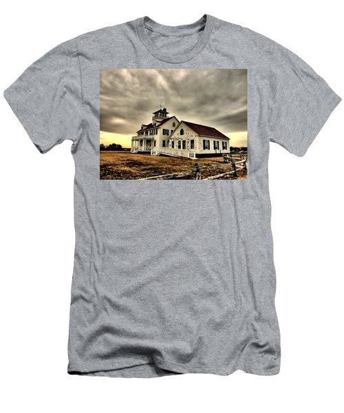 Coast Guard Beach Station Men's T-Shirt (Athletic Fit)