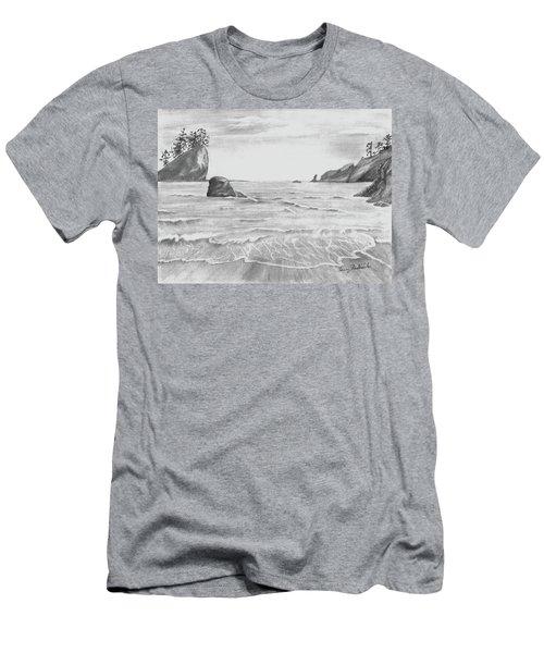 Coastal Beach Men's T-Shirt (Athletic Fit)