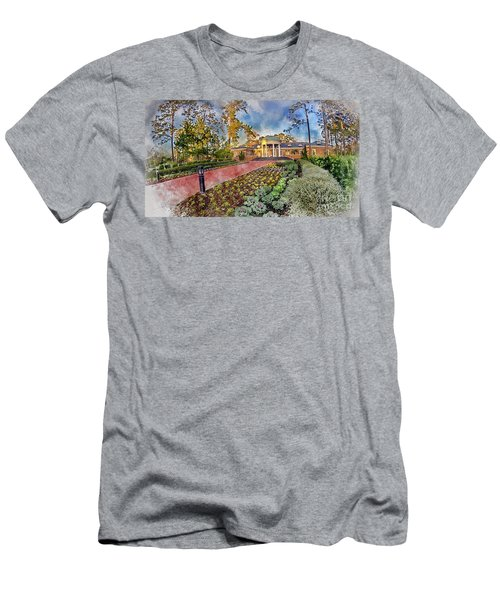Coastal Carolina University Digital Watercolor Men's T-Shirt (Athletic Fit)