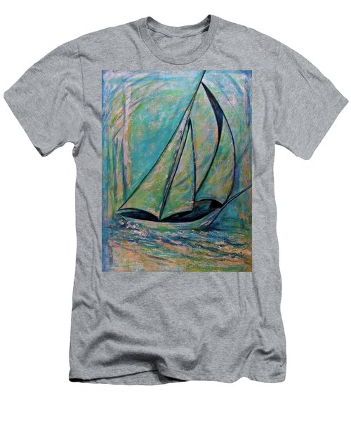 Coastal Metallic Men's T-Shirt (Athletic Fit)