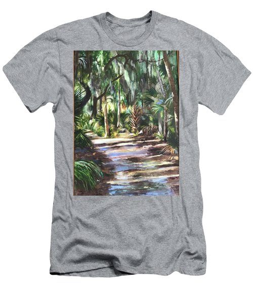Coastal Path Men's T-Shirt (Athletic Fit)