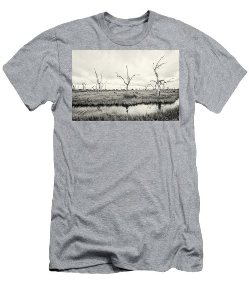 Men's T-Shirt (Slim Fit) featuring the photograph Coastal Skeletons by Andy Crawford
