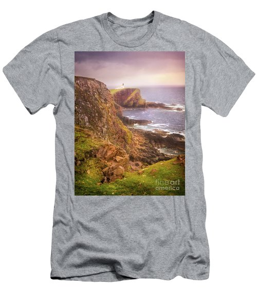 Coastal Walks IIi Men's T-Shirt (Slim Fit) by Maciej Markiewicz