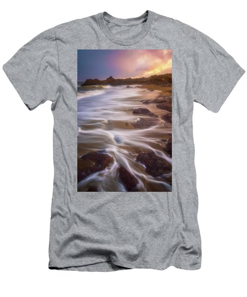 Men's T-Shirt (Athletic Fit) featuring the photograph Coastal Whispers by Darren White