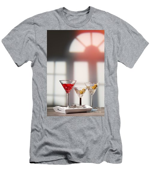Cocktails At House Party Men's T-Shirt (Athletic Fit)