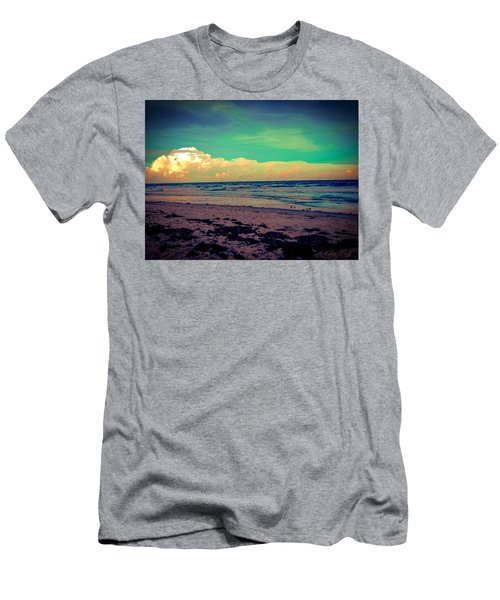Cocoa Beach At Dusk Men's T-Shirt (Athletic Fit)