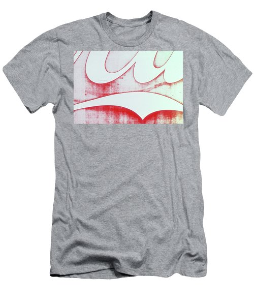 Men's T-Shirt (Slim Fit) featuring the photograph Coke 4 by Laurie Stewart