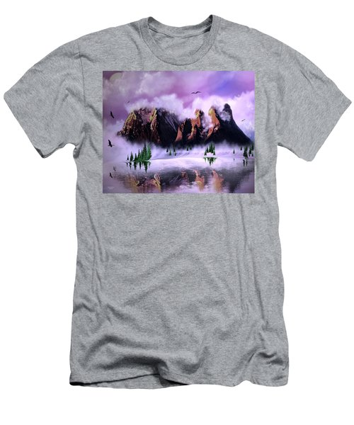 Cold Mountain Morning Men's T-Shirt (Athletic Fit)