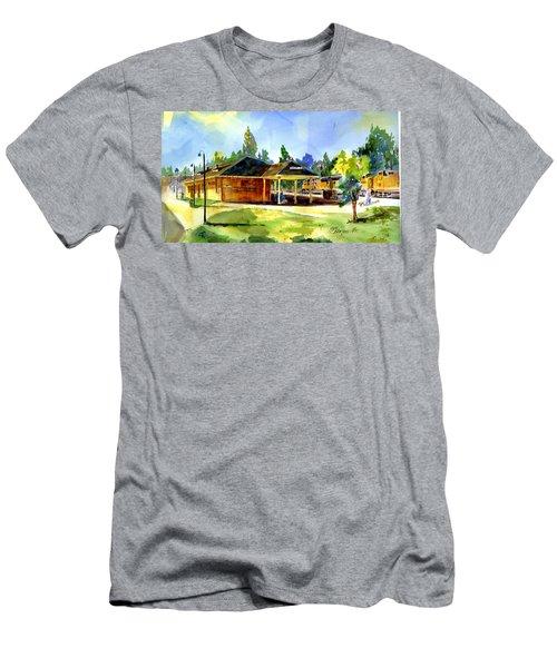 Colfax Rr Depot Men's T-Shirt (Athletic Fit)