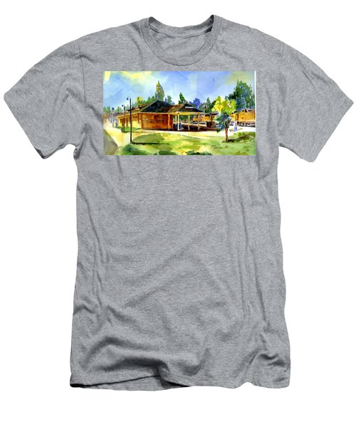 Colfax Rr Depot Men's T-Shirt (Athletic Fit)