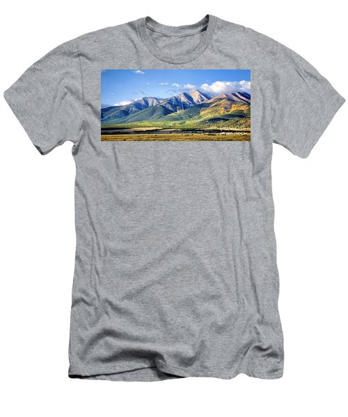 Men's T-Shirt (Athletic Fit) featuring the photograph Collegiate Range by Scott Kemper