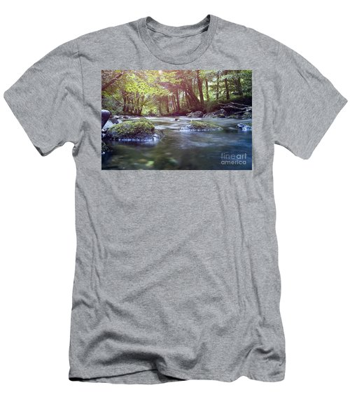 Colligan River Dream 1 Men's T-Shirt (Athletic Fit)