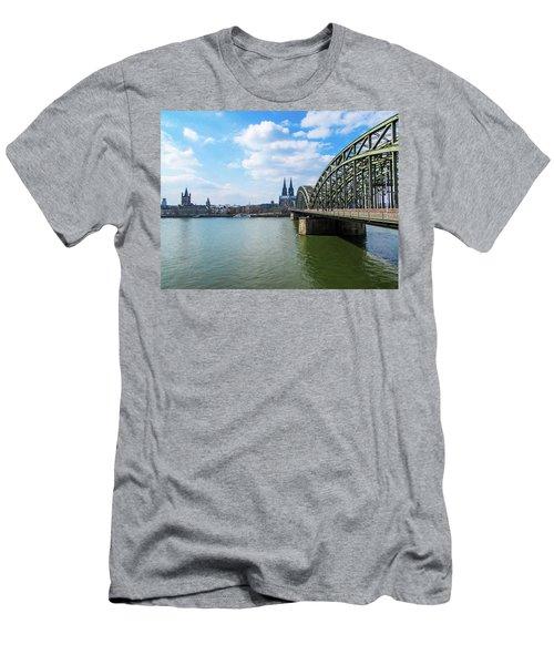 Cologne Men's T-Shirt (Slim Fit) by Cesar Vieira