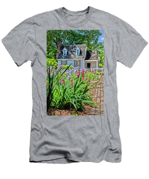 Colonial Garden1 Men's T-Shirt (Athletic Fit)