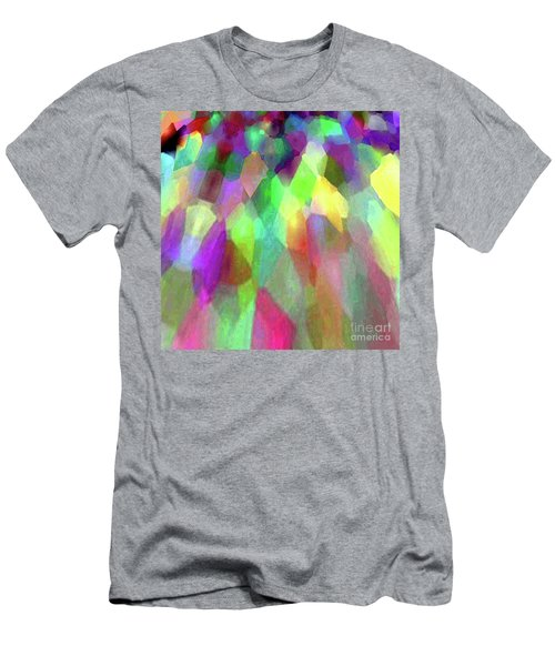 Color Abstract Men's T-Shirt (Athletic Fit)