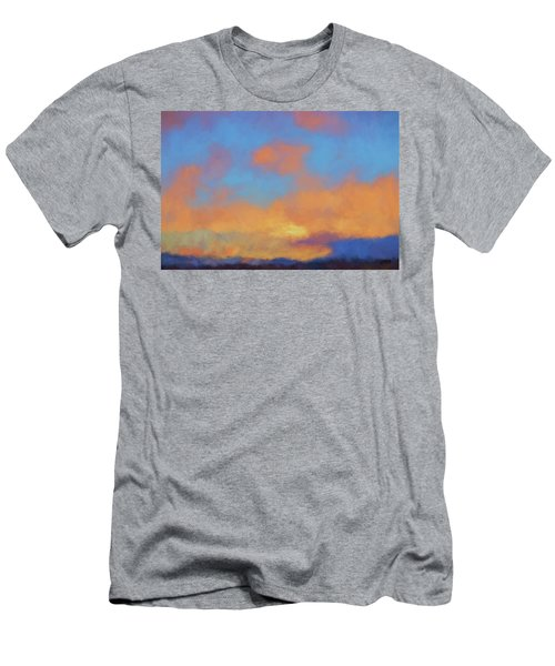 Color Abstraction Lvii Men's T-Shirt (Athletic Fit)