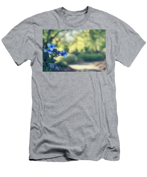 Men's T-Shirt (Athletic Fit) featuring the photograph Color Me Blue by Gene Garnace