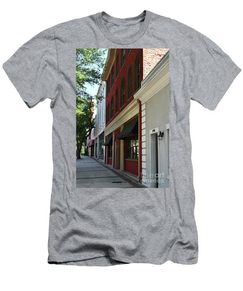 Men's T-Shirt (Slim Fit) featuring the photograph Color Me Main St Usa by Skip Willits