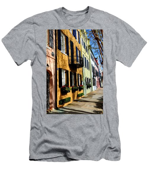 Color Of Charleston Men's T-Shirt (Athletic Fit)