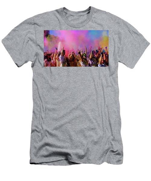Color Sky Men's T-Shirt (Athletic Fit)